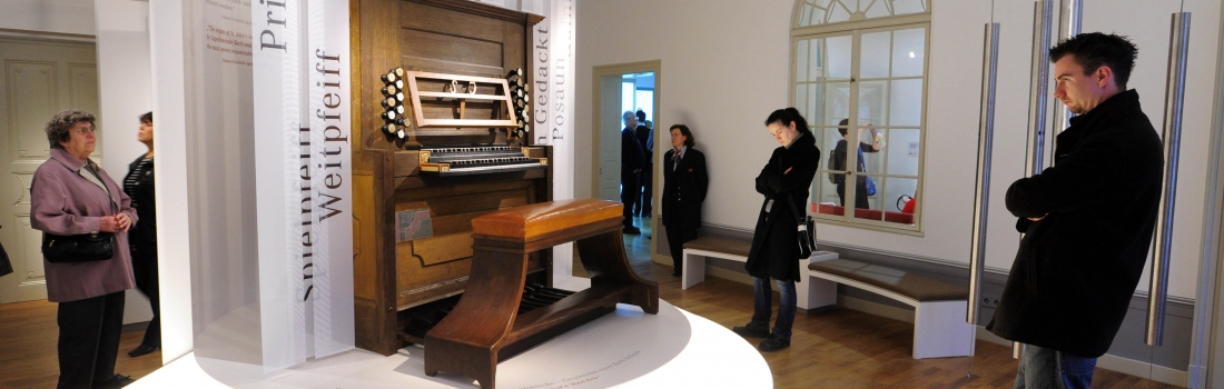 Interactive Multimedia Exhibition about Life and Work of J. S. Bach in Leipzig