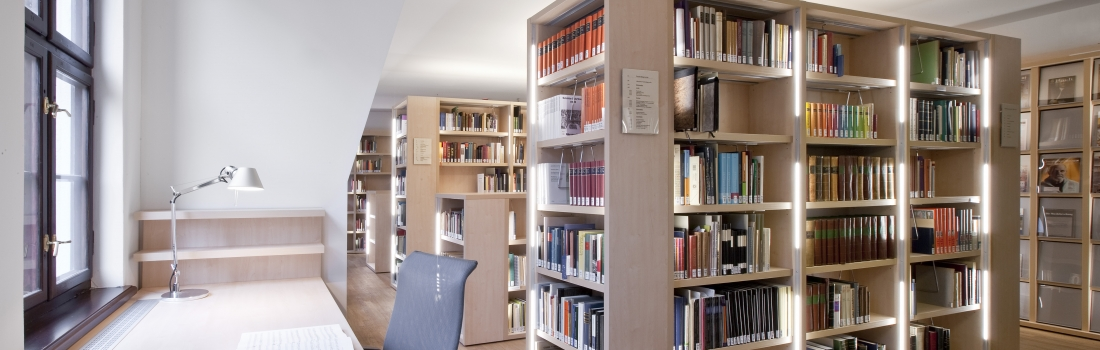 The library's working area