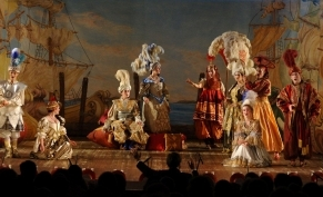 Scene from the Zanaida-perfomance. Photo: Gert Mothes